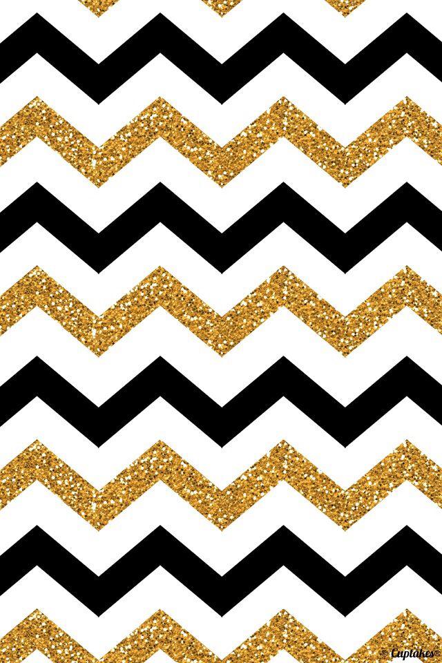 Black And Gold Striped Wallpaper Wallpapersafari