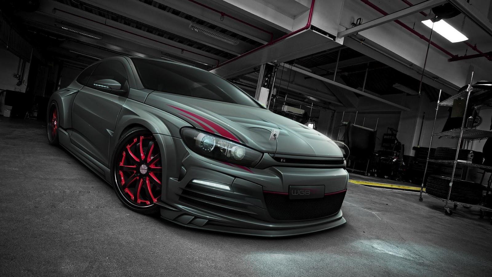 Cars HD Volkswagen Scirocco HD Wallpapers 1600x900