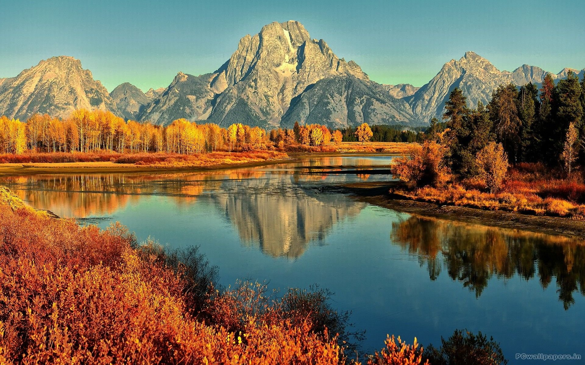 Fall Mountain Wallpapers   Top Fall Mountain Backgrounds 1920x1200