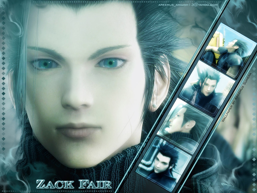 Zack Fair images Zack fair HD wallpaper and background photos 1024x768