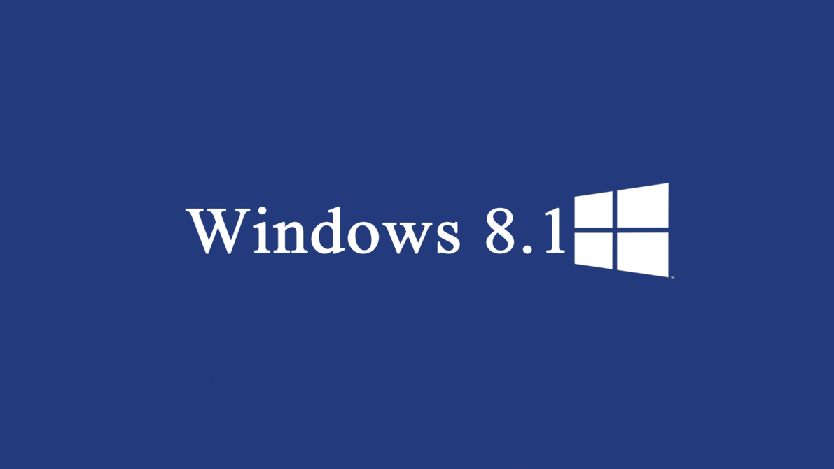 Blue Windows 81 Pictures Logo PC Wallpaper HD Widescreen 1191x670