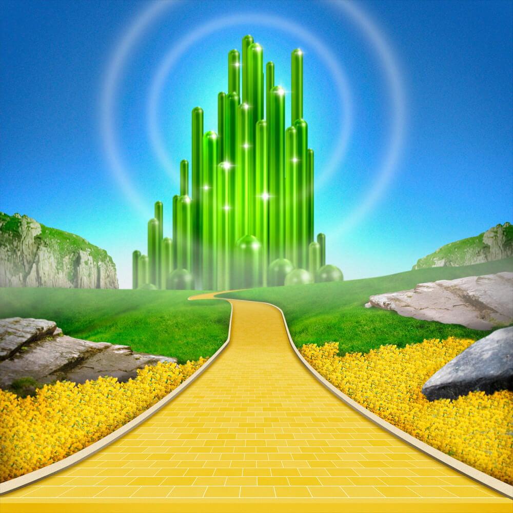 emerald city wallpaper wallpapersafari