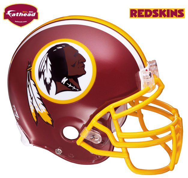 Washington Redskins Helmet Fathead NFL Wall Graphic 626x594