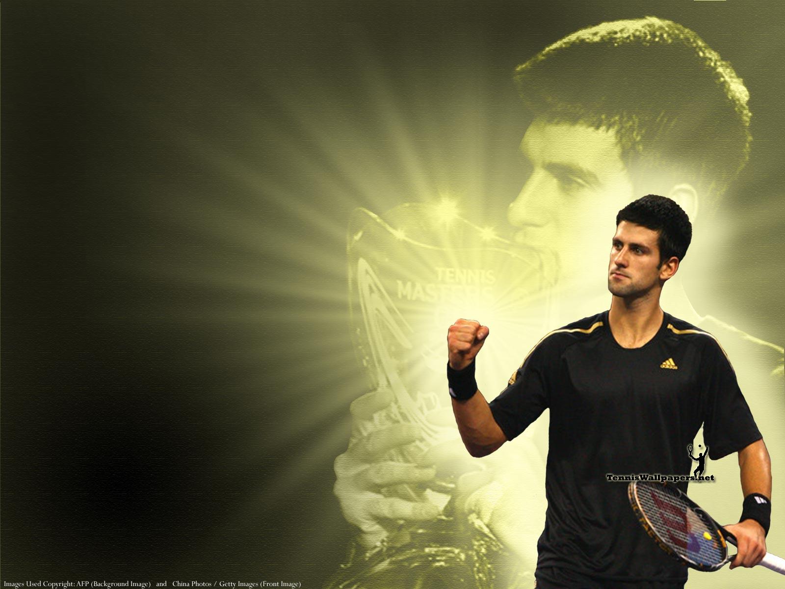 TENNIS PLAYERS WALLPAPERS Novak Djokovic Wallpapers 1600x1200
