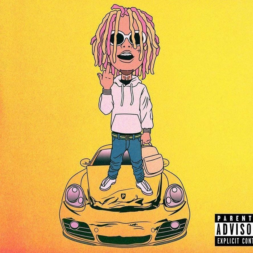 Lil pump Art in 2019 Lil pump Lil uzi vert Dope cartoons 888x888