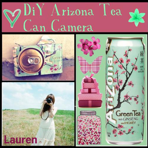 shijiruDiY Arizona Tea Can Camera by the tip of the week liked on 500x500
