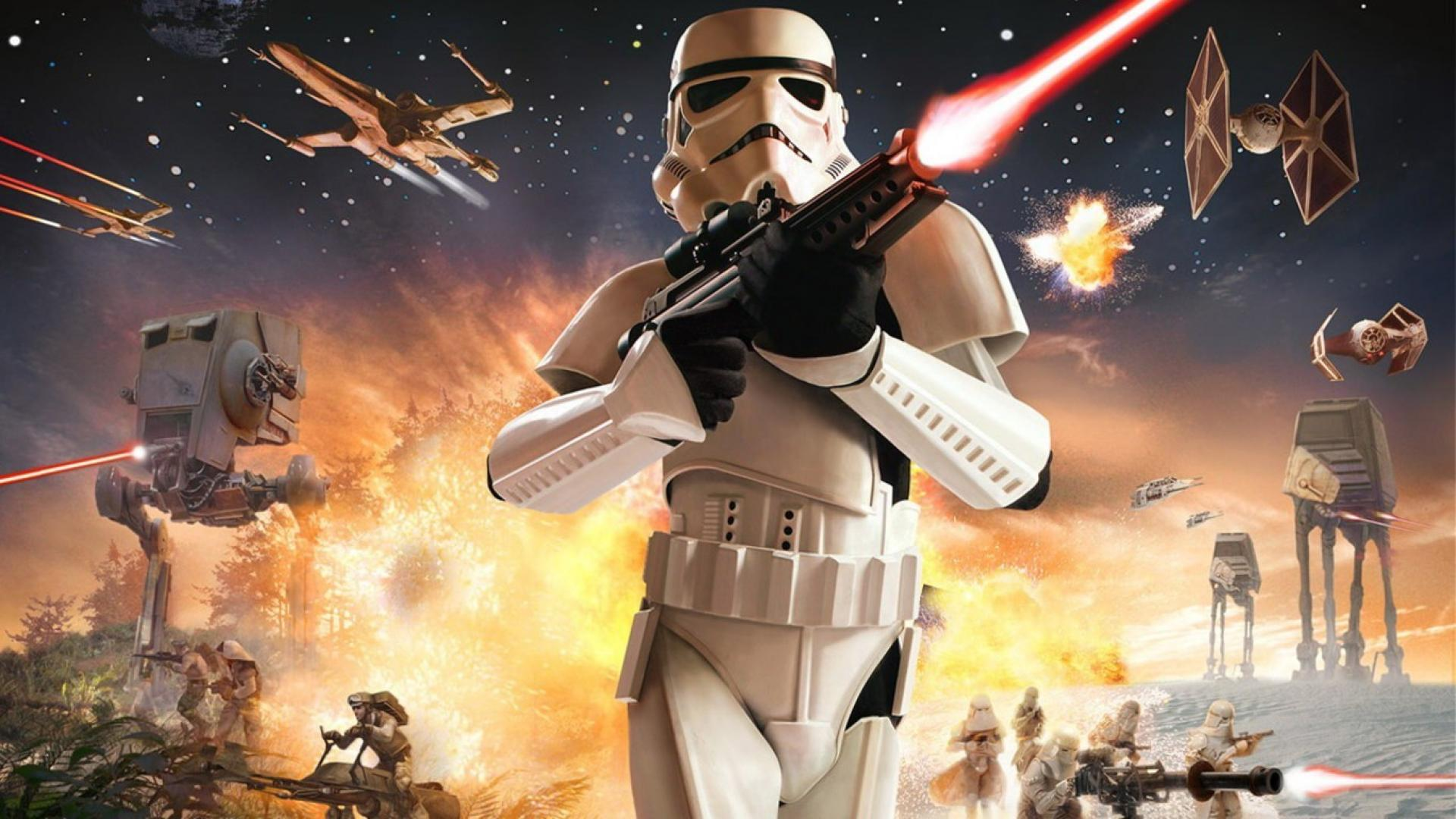 Free Download Star Wars Battlefront Galactic Empire Storm Trooper