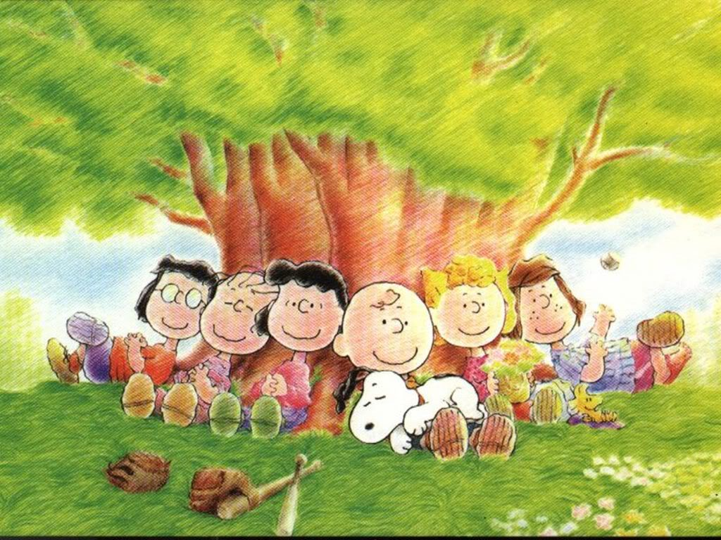 Peanuts images The Peanuts Gang HD wallpaper and background photos 1024x768