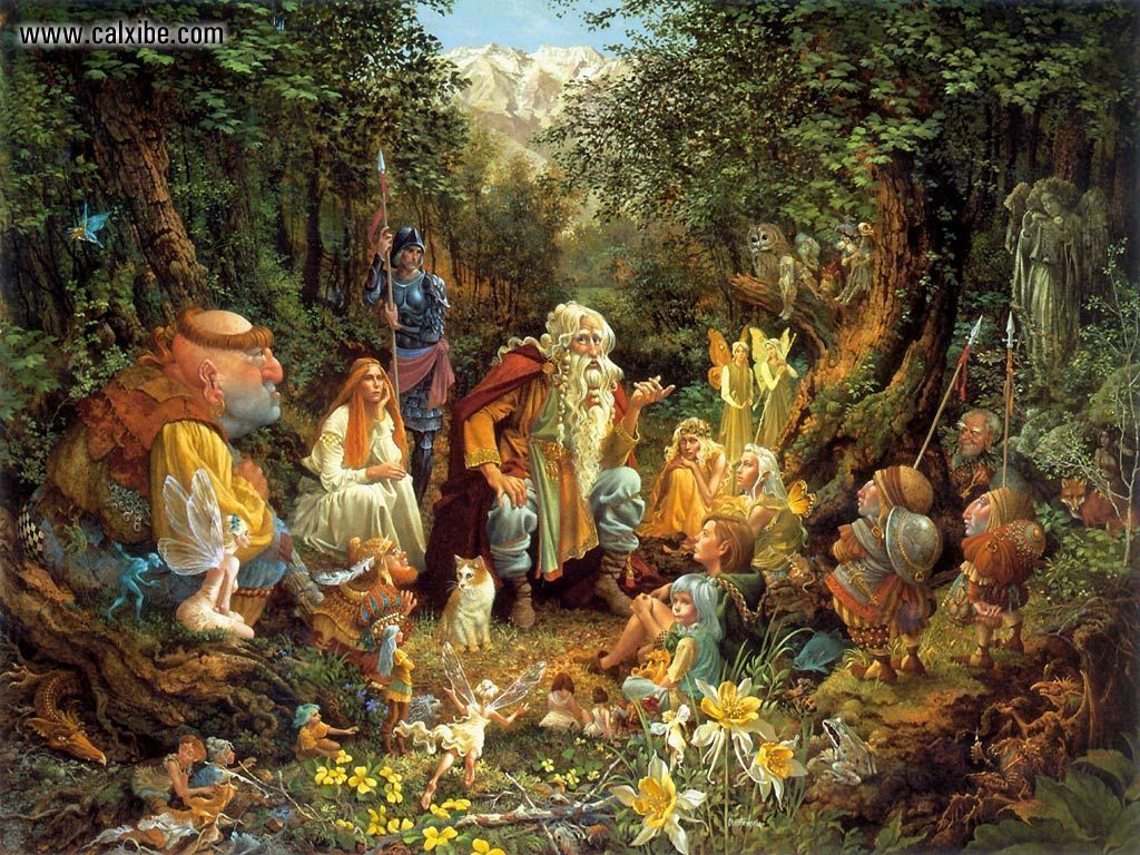 Free Download The Beautiful Necessity James Christensen Once