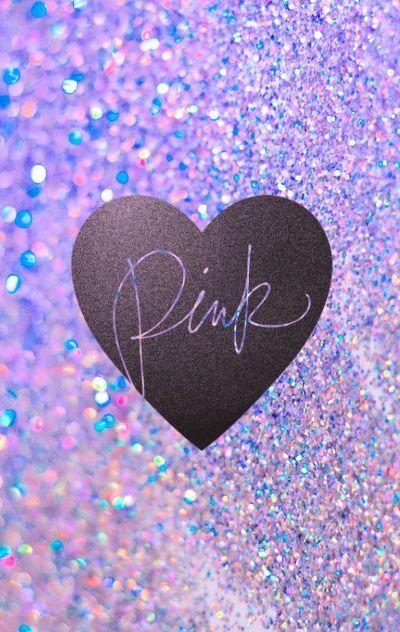 Victorias Secret glittersparkle Pink phone wallpaper I made Feel 400x632