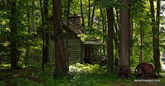 Cabin In The Woods Wallpaper Wallpapersafari