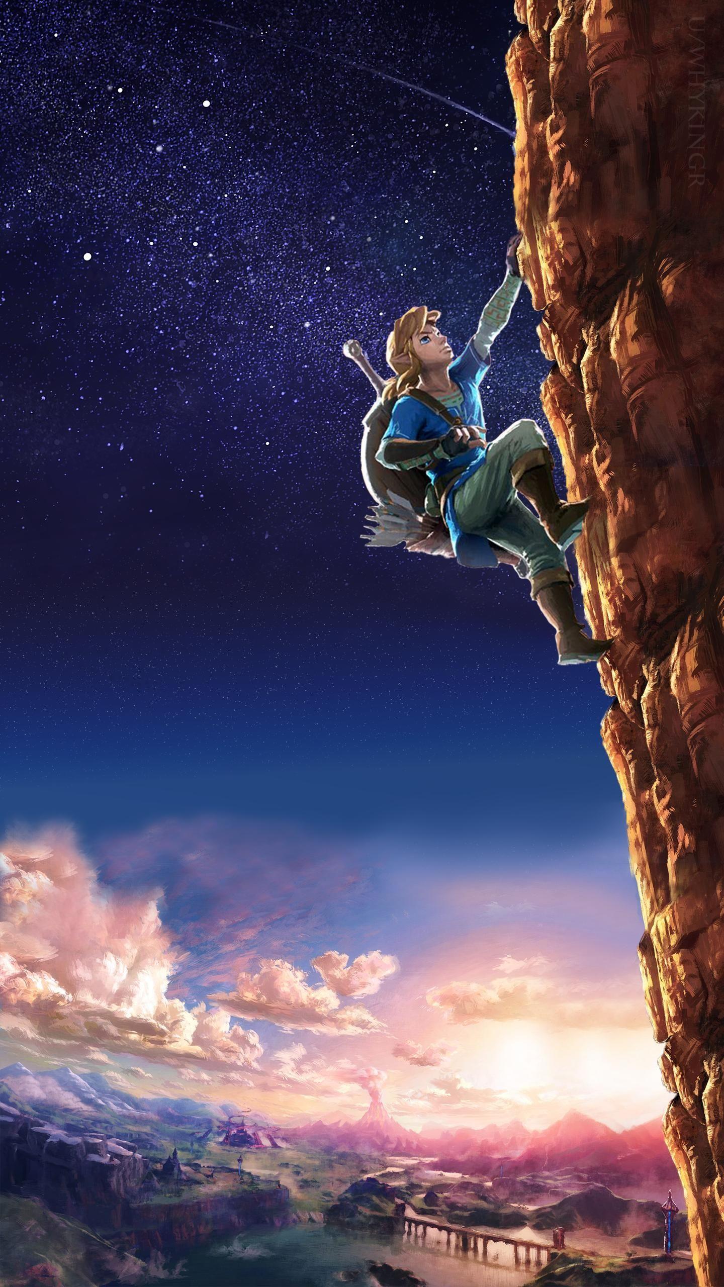 Free Download Zelda Breath Of The Wild Phone Wallpapers Legend Of