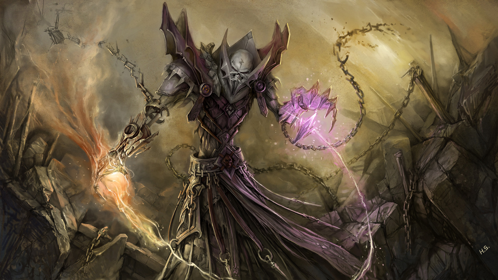 72 Wow Warlock Wallpaper On Wallpapersafari
