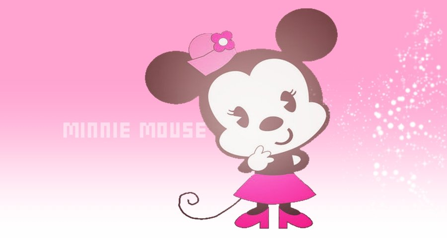 Wallpaper Cute Minnie mouse by KoteEdiciones 900x480