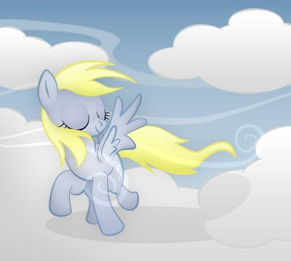 My Little Pony clouds my little pony derpy hooves 1280x1146 wallpaper 600x537