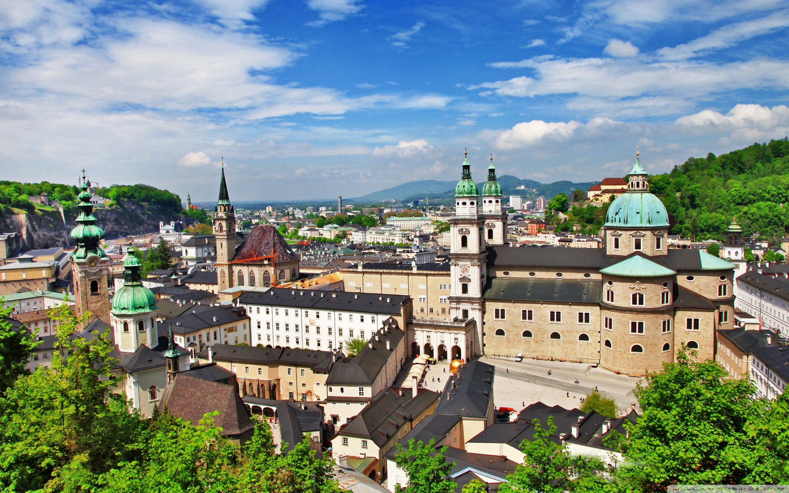 Salzburg Austria 4K HD Desktop Wallpaper for 4K Ultra HD TV 2560x1600