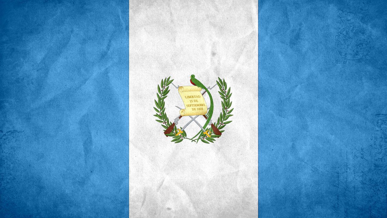 Guatemalan Flag Grunge Background Vector Illustration Vector Art ...