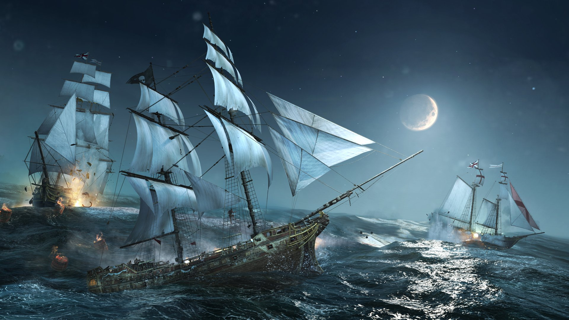 Sea Pirate Wallpapers Best Wallpapers 1920x1080