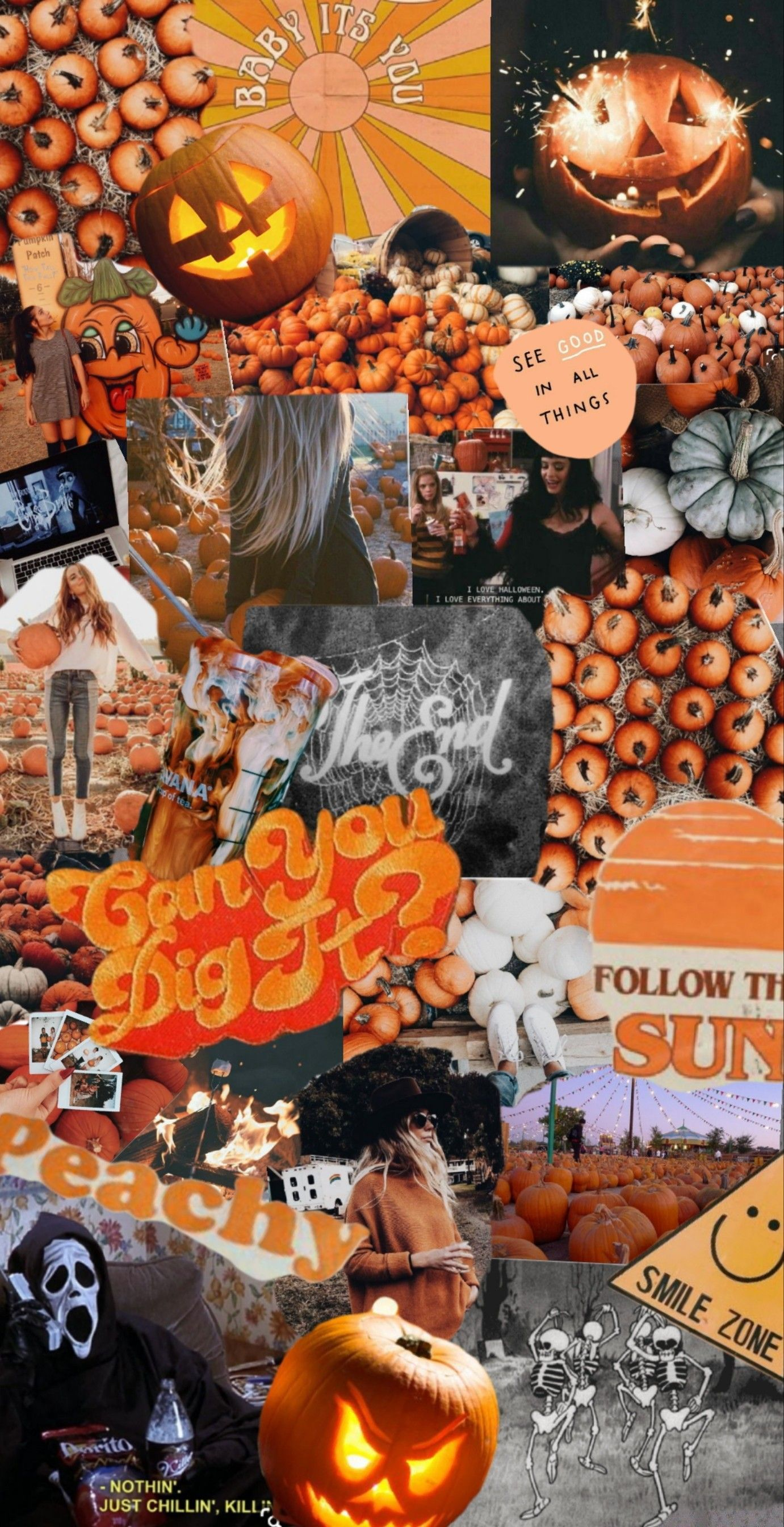 Created by jessicalilyjohnson wallpers autumn Spooky background 1381x2688