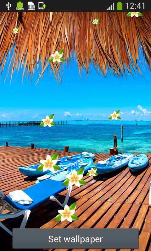 50+ Free Tropical Beach Live Wallpaper on WallpaperSafari