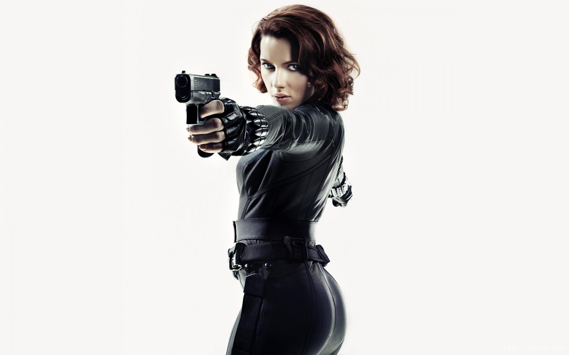 Scarlett Johansson Black Widow HD Wallpaper   iHD Wallpapers 1920x1200