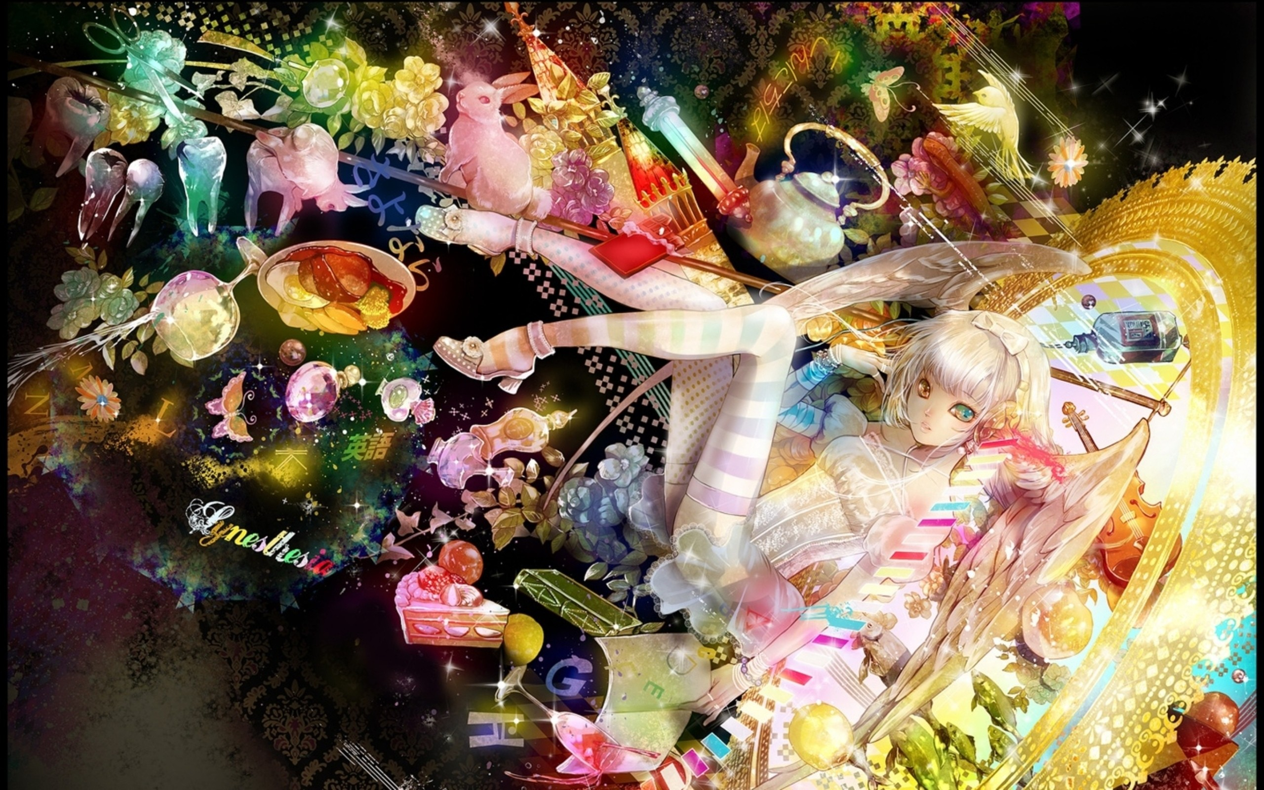 Google Themes Rainbow Angel Google Wallpapers Rainbow Angel Google 2560x1600