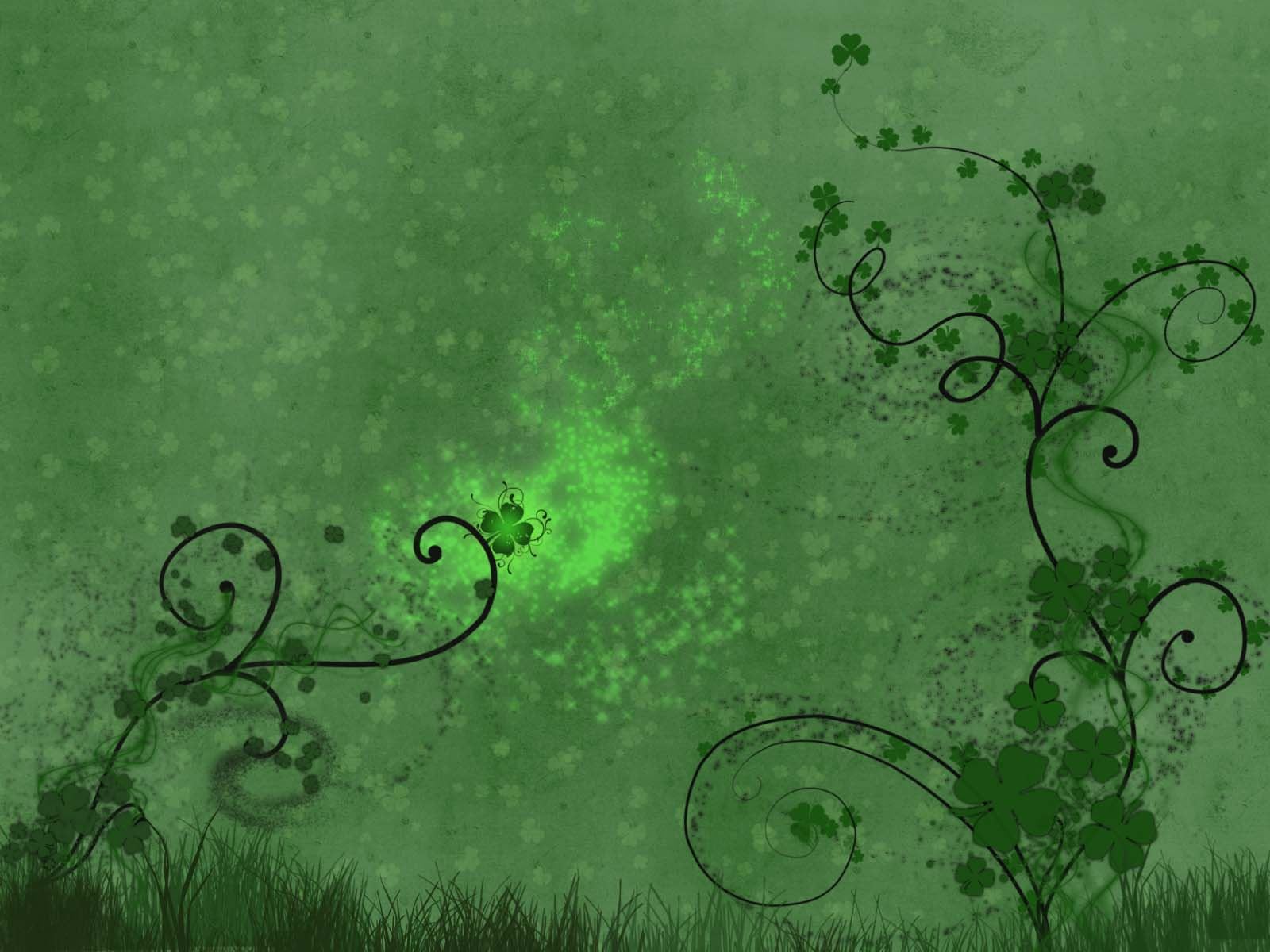 WinCustomize Explore Wallpapers Shamrock Alchemy 1600x1200