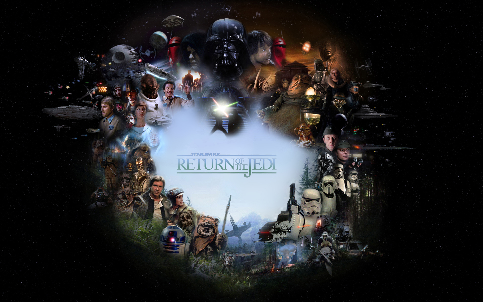 50 Return Of The Jedi Wallpaper On Wallpapersafari