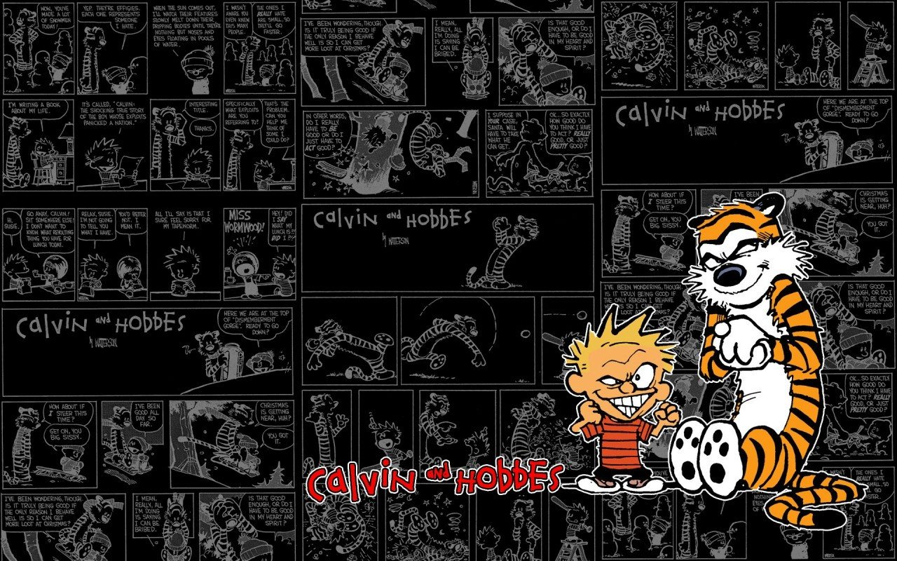Calvin Hobbes Computer Wallpapers Desktop Backgrounds 1280x800 1280x800