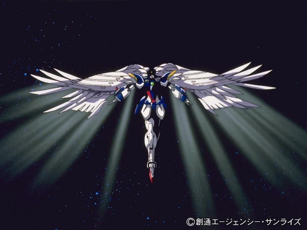 Gundam wing zero wallpaper wallpapersafari for Custom wallpaper