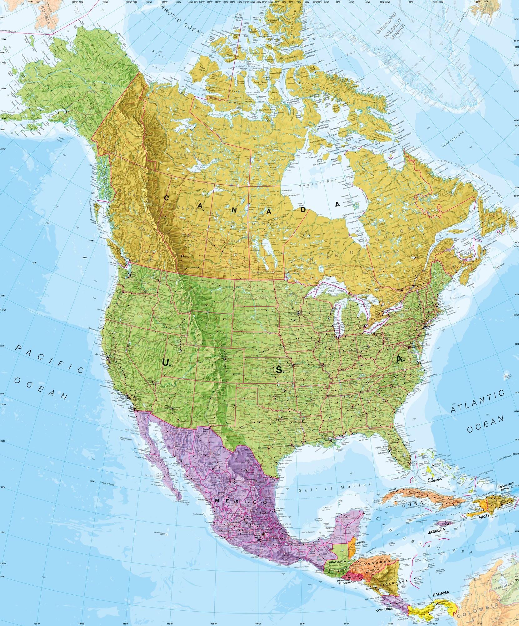 29 America Map Wallpapers On Wallpapersafari
