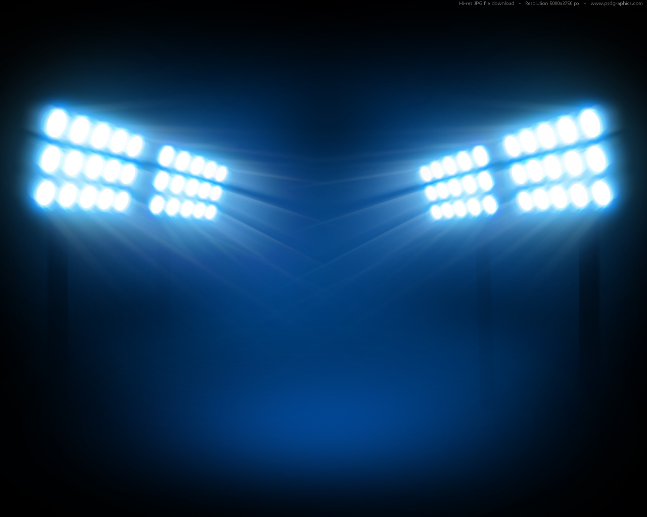 Stadium floodlights backgrounds PSDGraphics 1280x1024