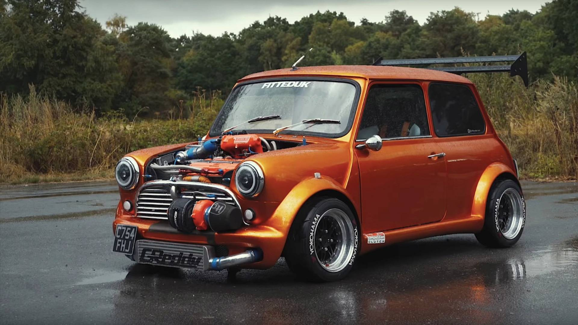 Classic Mini With 360 Horsepower Redefines Pocket Rocket 1920x1080