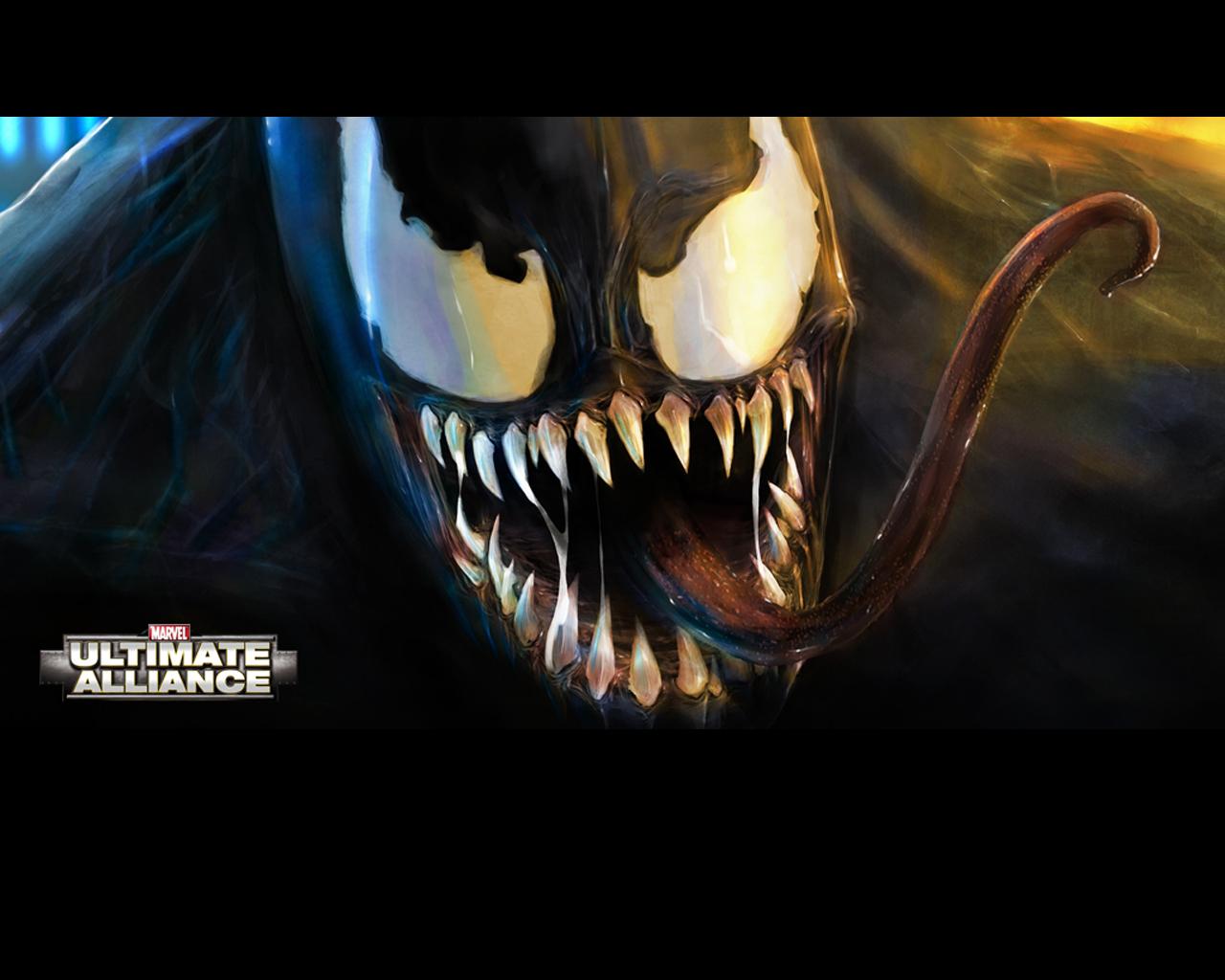 venom marvel ultimate alliance wallpaper venom wallpaper venomjpg 1280x1024