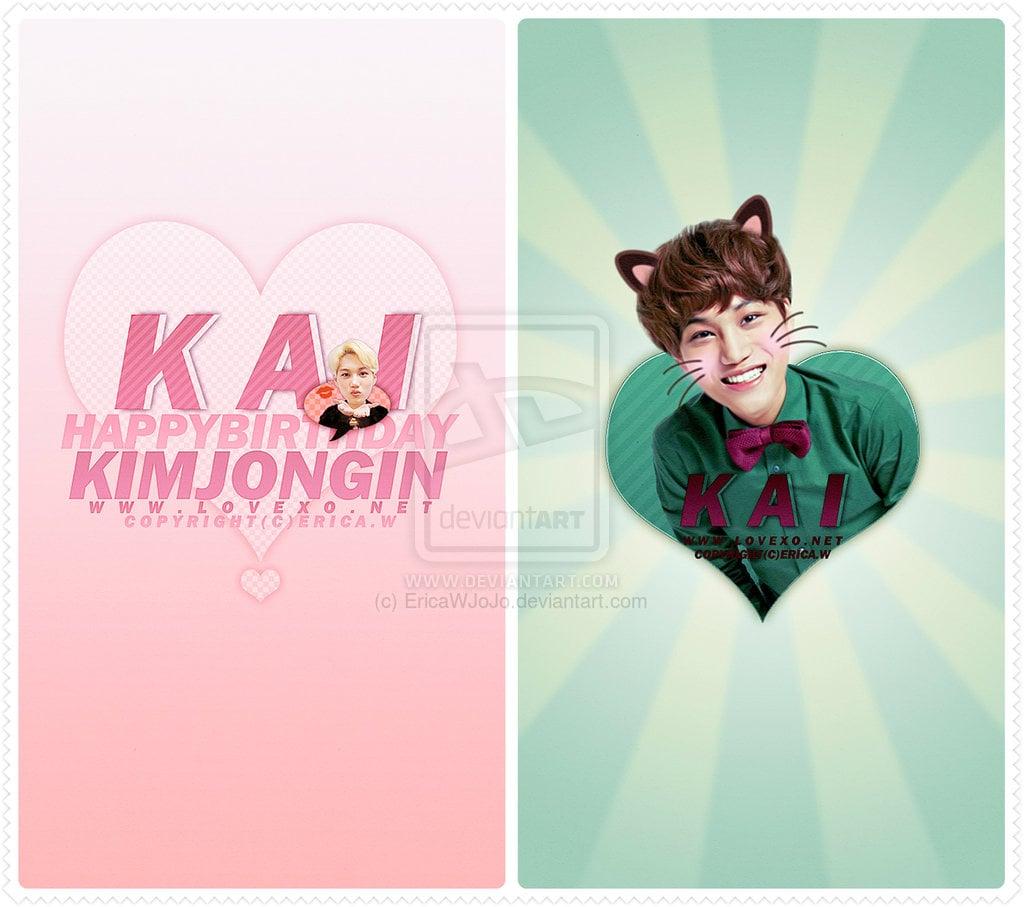 Download Lovexo 131231 Exo Kai Phone Wallpaper By Ericawjojo On