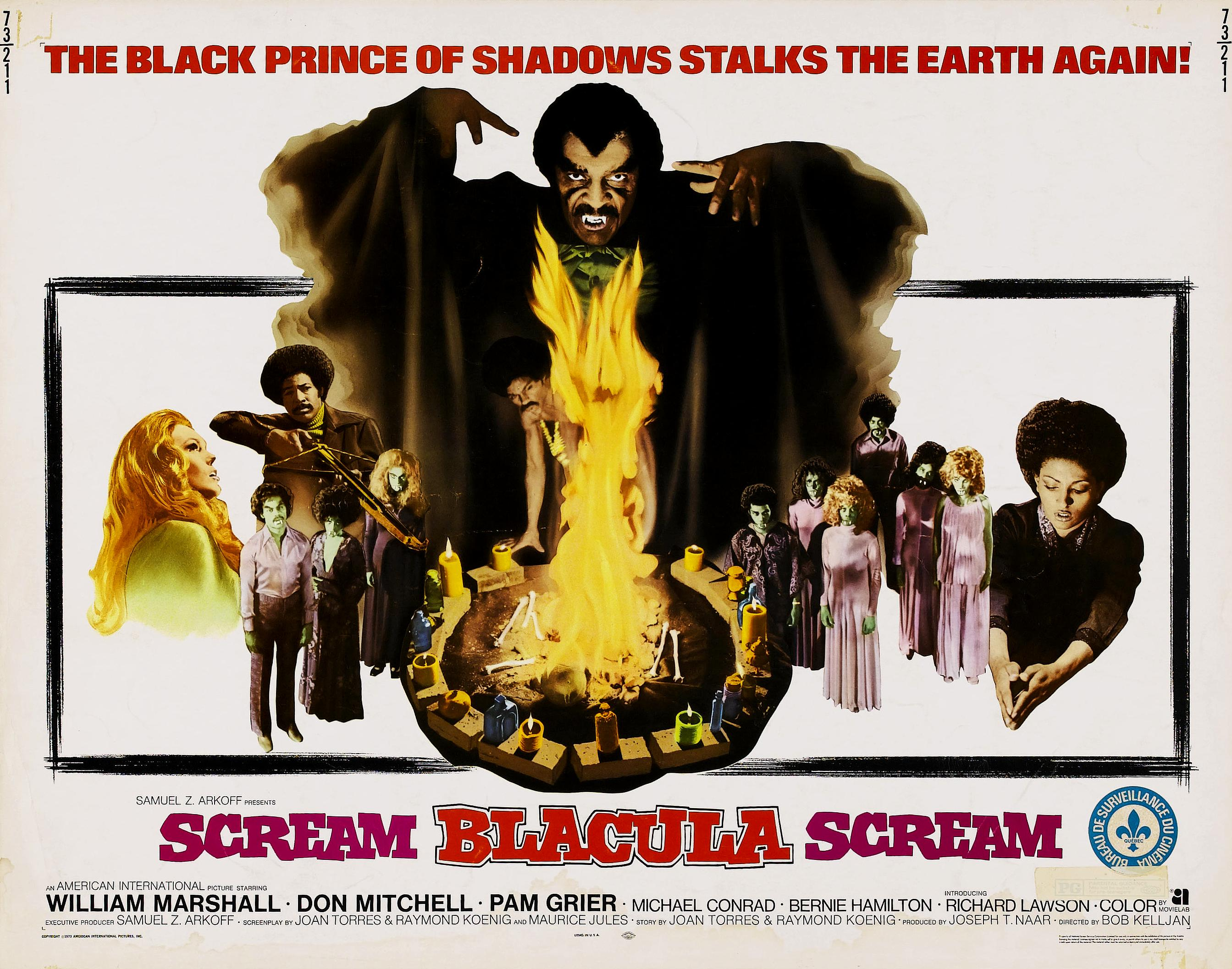 Scream Blacula Scream 1973 Bob Kelljan Ian Farrington 2687x2114