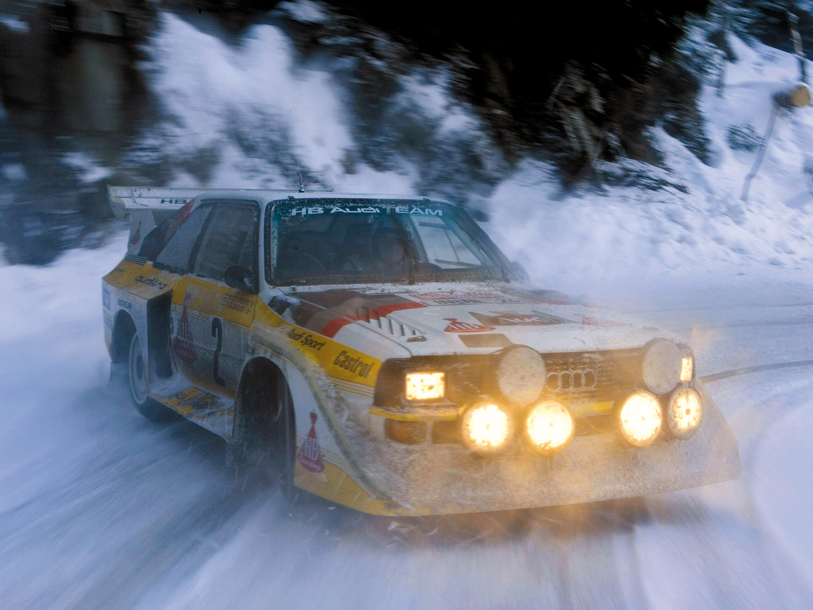 Sport Quattro S1 Group B Rally Car Wallpapers Cool Cars Wallpaper 1600x1200