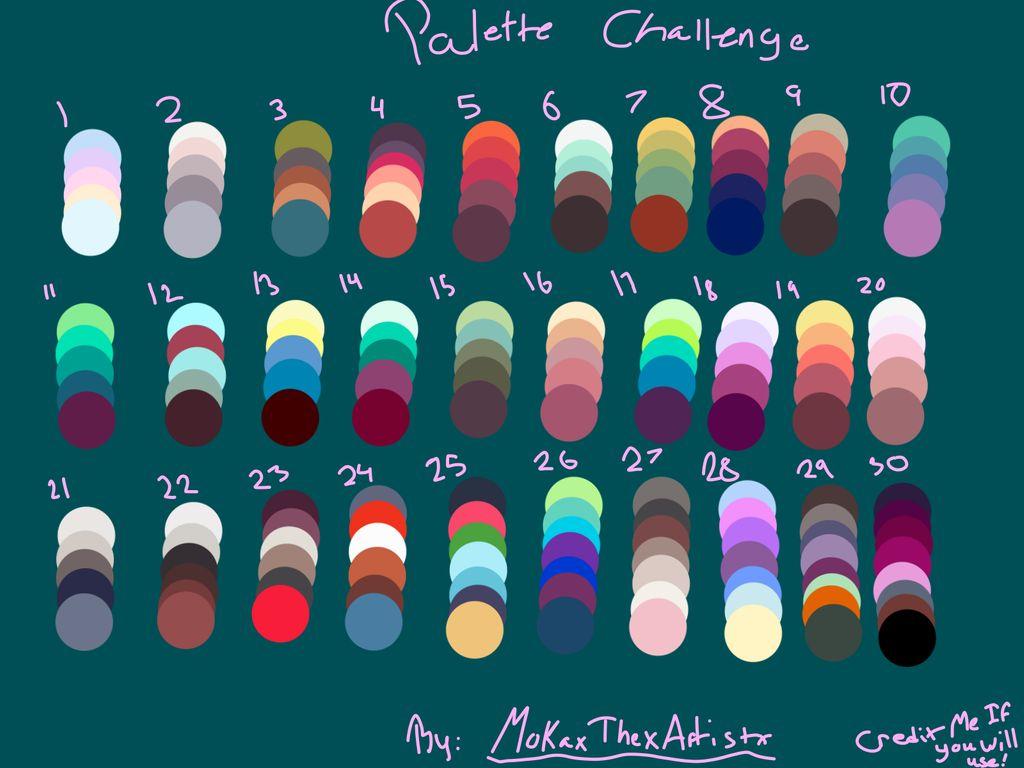 Palette Challenge by MokaxThexArtistx 1024x768