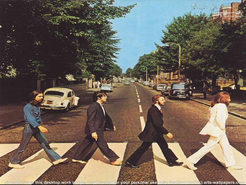 Beatles Abbey Road Poster Wallpaper Desktop The 03 800x600