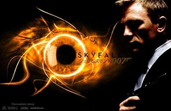 Online Wallpapers Shop Skyfall Poster James Bond 007 Skyfall 569x372