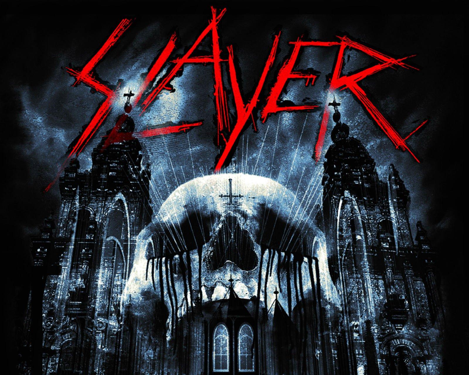 SLAYER death metal heavy thrash skull dark wallpaper 1600x1280 1600x1280