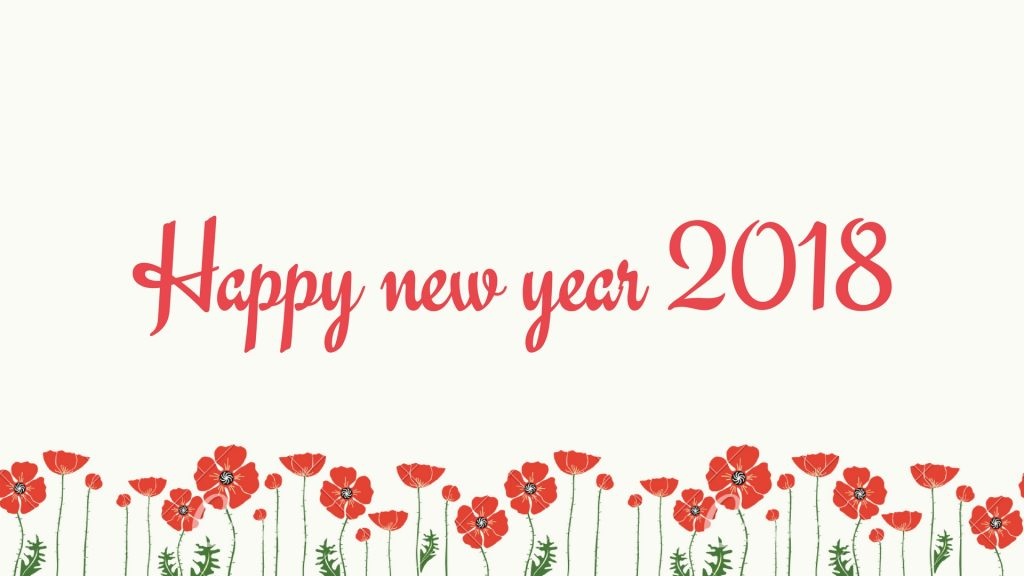 Happy New year 2018 Wishes Images Status Wallpaper 1024x576