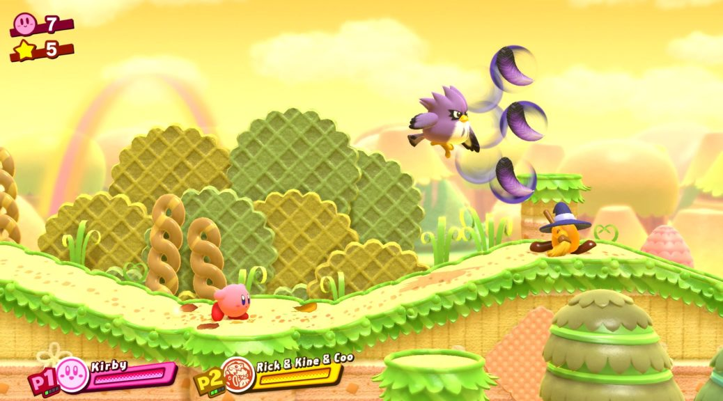 You Can Now Download A Kirby Star Allies Wallpaper From My 1038x576