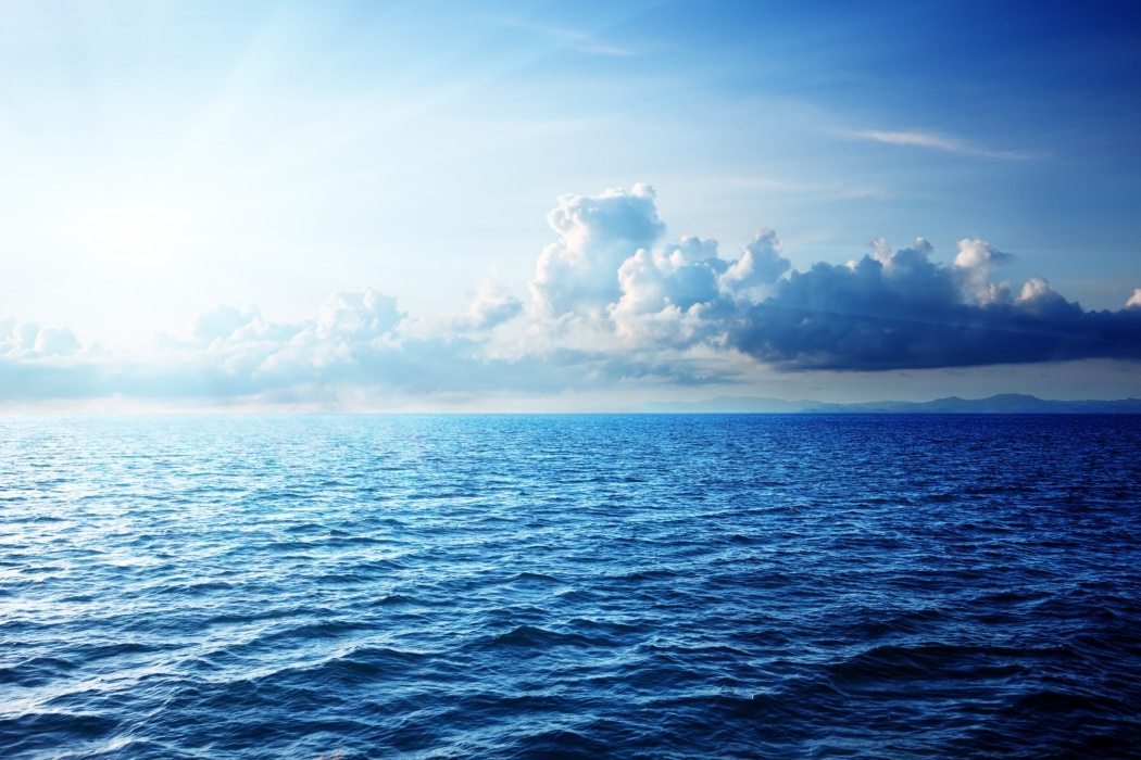 Blue Ocean wallpaper Best HD Wallpapers 1050x700