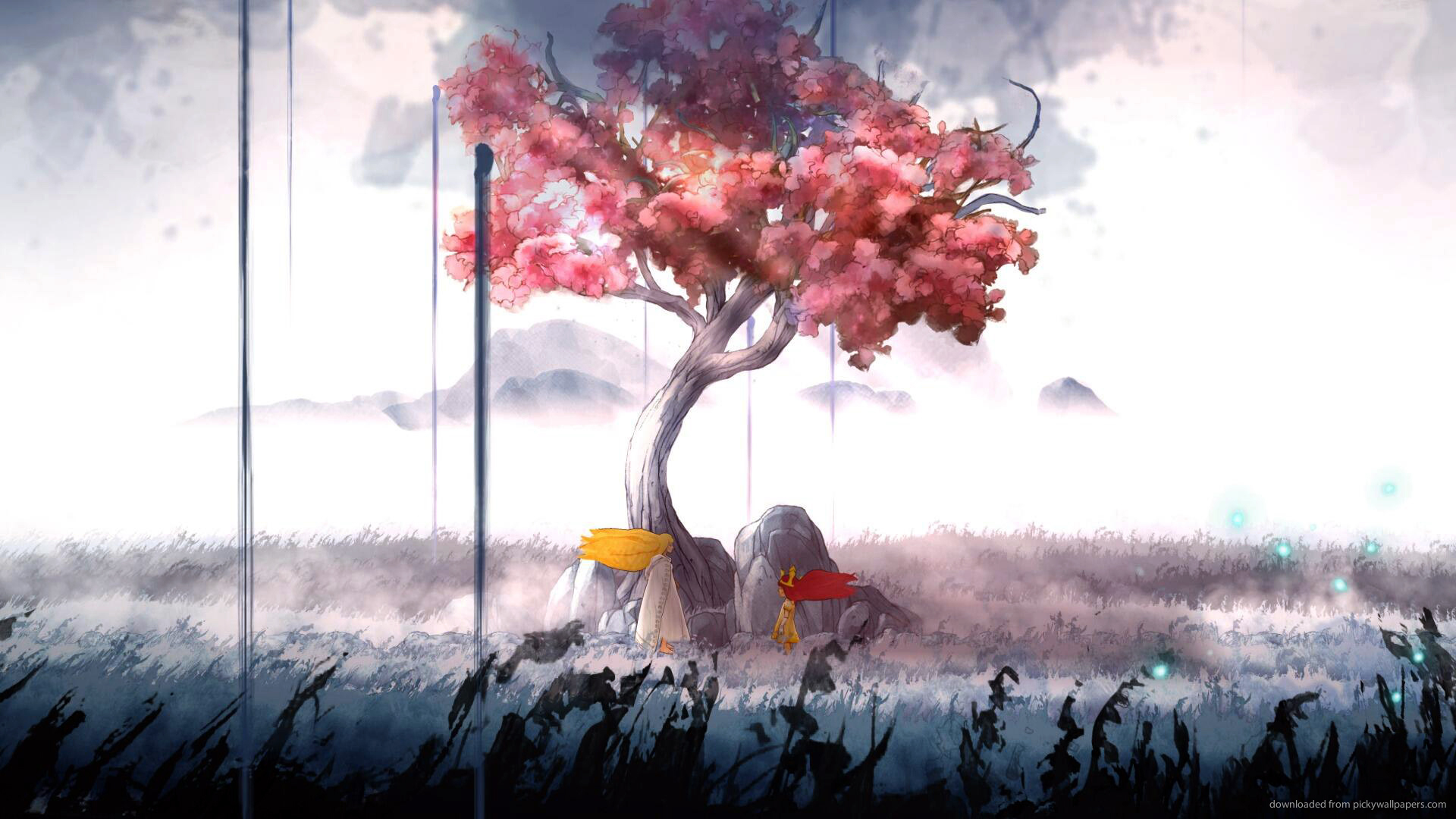 Child Of Light iPhone HD Wallpaper Background Images 1920x1080