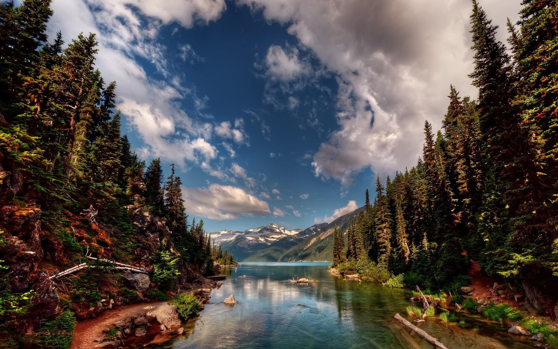 Yellowstone National Park Background 1920x1200
