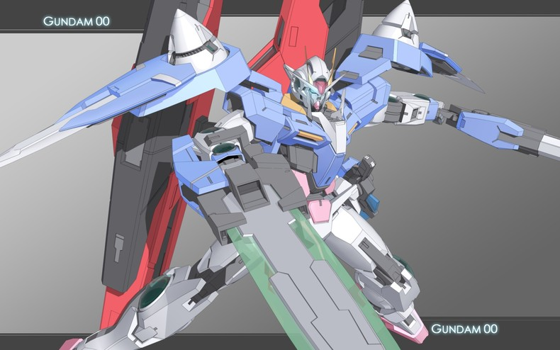 Home Gallery Mobile Suit Gundam 00 Wallpapers Gundam 00 790x494
