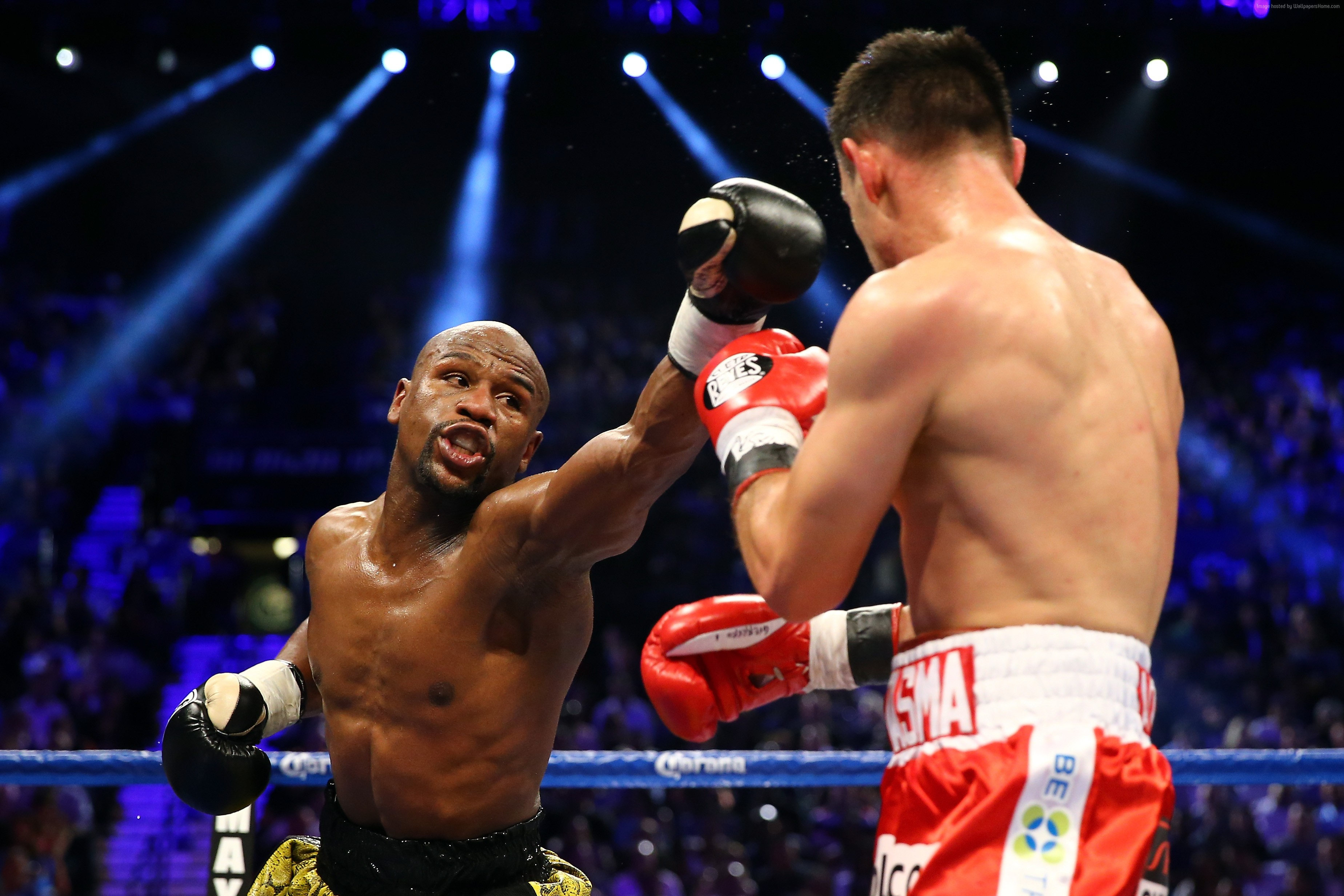 111278 light Floyd Mayweather ring boxing American boxer 3696x2464