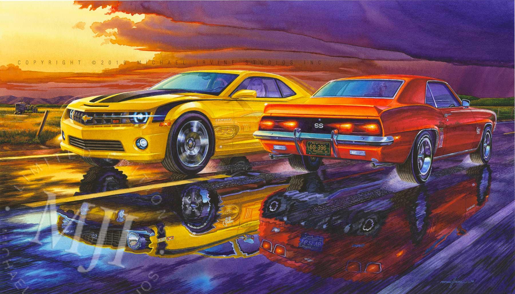 Car art wallpaper wallpapersafari for Painting my car