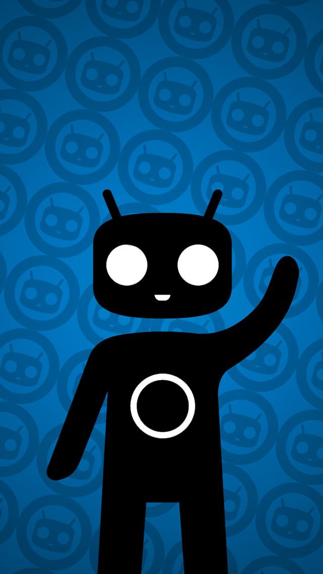 Cyanogen Wallpaper 640x1136